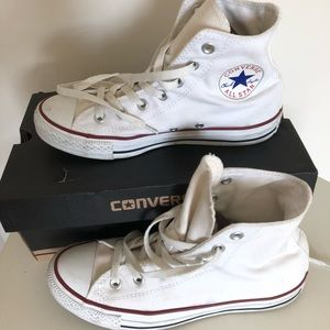 Converse All Star High Top Sneaker, Size: women8